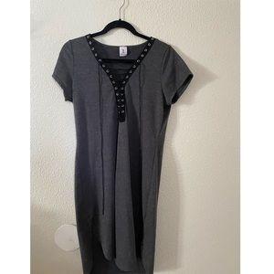 Libian Dress Grey